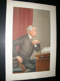 Vanity Fair Print 1905 Ernest Baggallay, Legal
